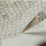 行列の花模様アートのガラスペンはコレ!ガラスペンの佐瀬工業所【行列のできる相談事務所】