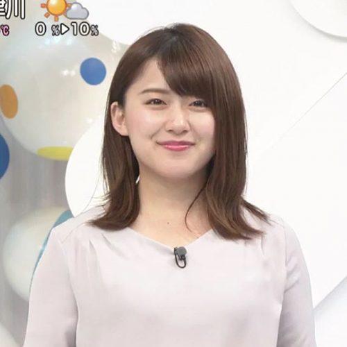 尾崎里紗アナの過去画像は?食い...