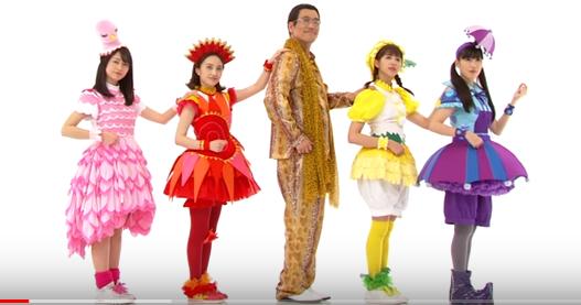 ももクロとピコ太郎のベジタボーは気持ち悪いけど流行る?タイトルコールは誰?踊りが長くて曲に違和感?動画の評価は?