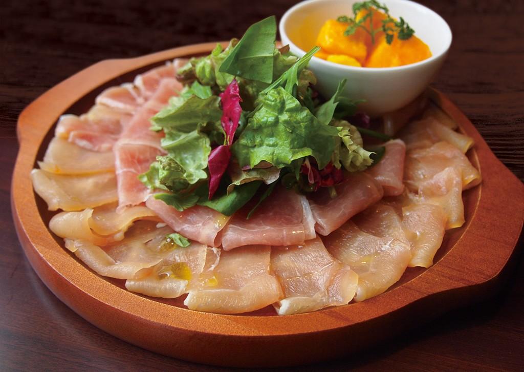 青空レストラン東京しゃも鶏の生ハム熟成低温燻製の通販やお取り寄せは?