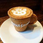 エコプレッソ食べれるコーヒーカップの通販は?所さんお届けモノですで紹介!RJカフェの場所は?